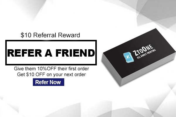Ztoone 10 Referral Reward