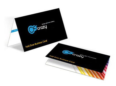 FOLD OVER BUSINESS CARDS printing