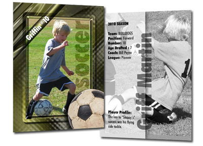 TRADING CARDS PRINTING design
