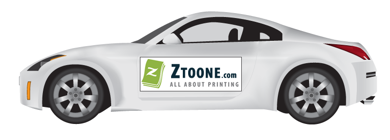 Car Magnets Printing Custom Car Magnetic Signs Today With Ztoonecom - Custom sport car magnets
